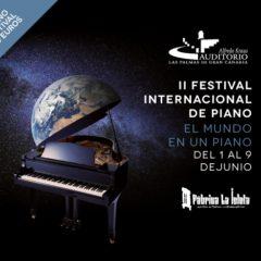 II Festival internacional de Piano en el Auditorio Alfredo Kraus