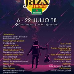 Programa del Festival Canarias Jazz&más 2018