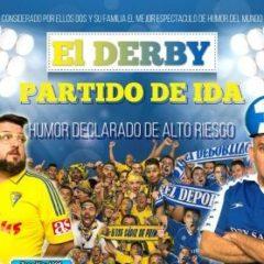 El Derby del humor se juega en el Carrizal conToni Rodríguez y Luis Lara