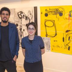 Exposición de los 'Artistas en residencia' Yuran Henrique y Saskia Rguez