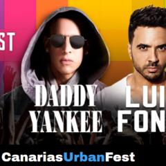 Canarias Urban Fest con Daddy Yankee y Luis Fonsi en el Anexo del Estadio de Gran Canaria