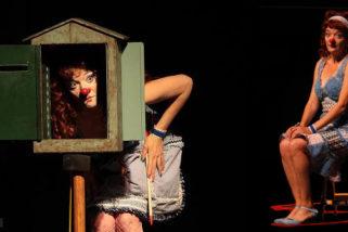 Penélope, de la compañía Pepa Plana Espectáculo de clown. Para todos los públicos.