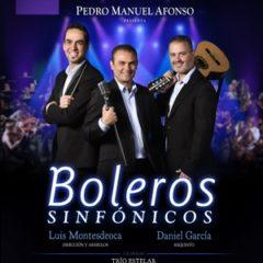 PEDRO MANUEL AFONSO presenta  BOLEROS SINFÓNICOS en el Teatro Pérez Galdós