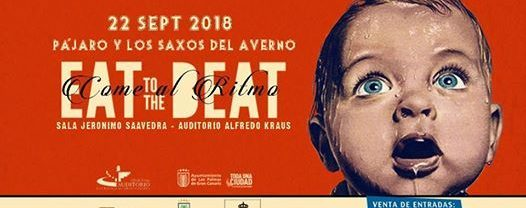 Festival Eat to the beat: Concierto de Pájaro y Los Saxos del Averno