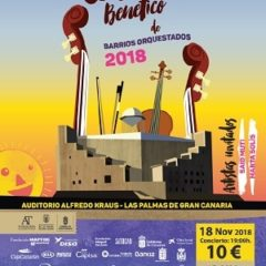 Concierto Benéfico de Barrios Orquestados en el Auditorio Alfredo Kraus