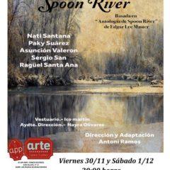 'A orillas del Spoon River', por Antoni Ramos en el App-Arte Espacio Escénico