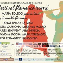 El sexto Festival Flamenco Romí homenajea a la mujer en su cita en Telde