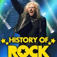 El espectáculo de Rock más emocionante, éste fin de semana, en The History of rock