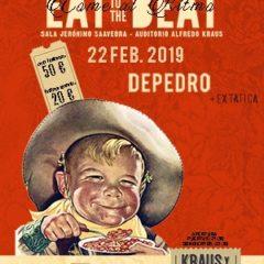DEPEDRO y EXTÁTICA / EAT TO THE BEAT, plato fuerte del fin de semana