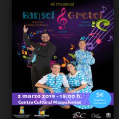 Hansel & Gretel en el Centro Cultural Maspalomas