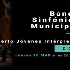 BANDA SINFÓNICA MUNICIPAL DE LAS PALMAS DE GRAN CANARIA Concierto Jóvenes Intérprete