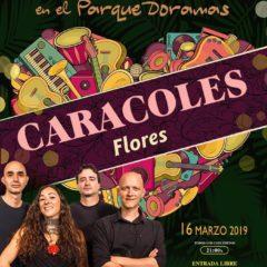 Concierto de Caracoles, dentro de Musicando, en el Parque Doramas