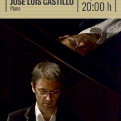 JOSÉ LUIS CASTILLO, Piano  en el Auditorio Alfredo Kraus