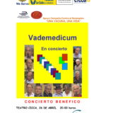 Concierto benéfico del grupo musical Vademédicum en el CICCA