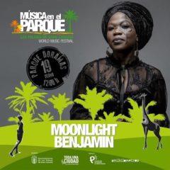 Concierto de Moonlight Benjamin en el Parque Doramas