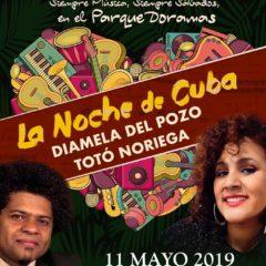 Concierto «La noche de Cuba» con Diamela del Pozo y Totó Noriega