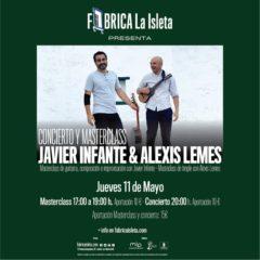 Concierto y Masterclass: Javier Infante y Alexis Lemes