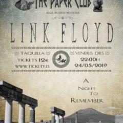 Concierto de Link Floyd en The Paper Club