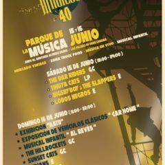 Festival Mágicos 40 en la Plaza de la Música (junto al Auditorio A.Kraus)