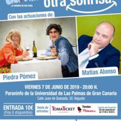 'Apadrina otra sonrisa': actuaciones de Piedra Pómez y Matías Alonso