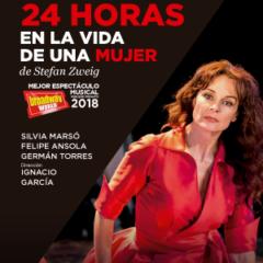 24 HORAS EN LA VIDA DE UNA MUJER, en el Teatro Perez Galdós