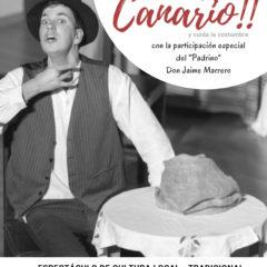 'Cuéntamelo, pero en canario', de 2RC Teatro Con la participación especial del «Padrino» Don Jaime Marrero.