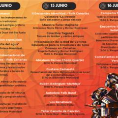 Taller Canario de Canción, Rubén Rodríguez y Autodate Folk Band actuarán en el XII Festival Folk Canarias