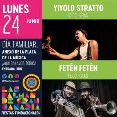 Conciertos y actuaciones infantiles #FiestasFundacionales19