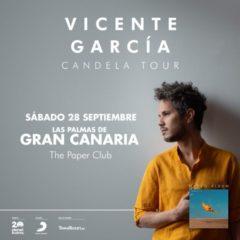 Vicente García en concierto en The Paper Club