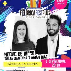 Breves teatro: Actuación de Delia Santana y Abián Díaz