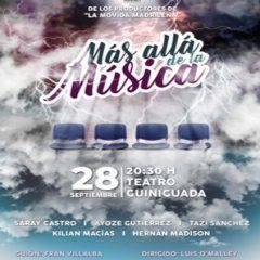 'Más allá de la música', personajes excéntricos en el Teatro Guiniguada
