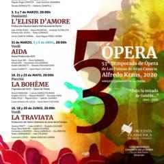 Festival de Opera de Las Palmas de Gran Canaria 2020 (Programa completo)