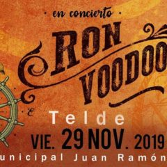 Ron Voodoo en concierto en el Teatro Municipal Juan Ramón Jiménez
