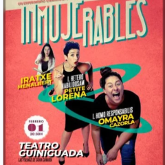 INMUJERABLES en el Teatro Guiniguada