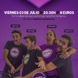 Show humorístico con Impro Canarias: '3, 2, 1, ¡Impro!'