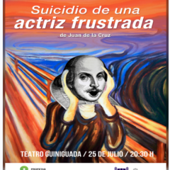Teatro con SUICIDIO DE UNA ACTRIZ FRUSTRADA