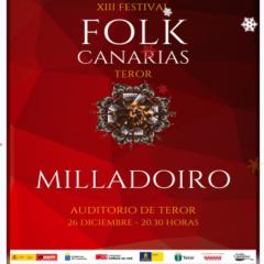 Concierto del grupo Folk Milladoiro