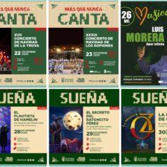 Programa de Navidad en el Edificio Miller de Las Palmas de Gran Canaria