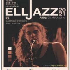 ELLJAZZ 2021: ALBA GIL ACEYTUNO en el Teatro Guiniguada