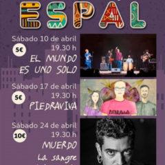 ESPAL 2021 CONCIERTOS en Abril en el Teatro Víctor Jara
