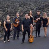 Concierto de 'Bohemia Lanzarote' en el Parque Doramas