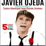 Javier Ojeda – Danza invisible en el Teatro Municipal Juan Ramón Jiménez