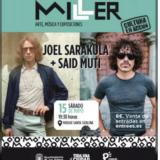 JOEL SARAKULA & SAID MUTI, en concierto en el Edificio Miller