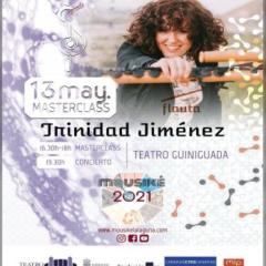 TRINIDAD JIMENEZ – FLAUTA, en el Teatro Guiniguada