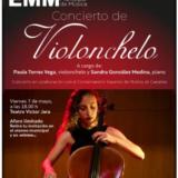 Paula Torres, violonchelo y Sandra González, piano en el Teatro Víctor Jara