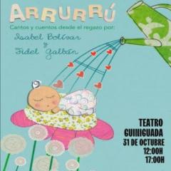 ARRURRÚ, CANTOS Y CUENTOS DESDE EL REGAZO