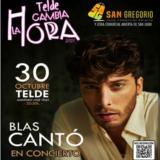 BLAS CANTÓ EN CONCIERTO EN TELDE